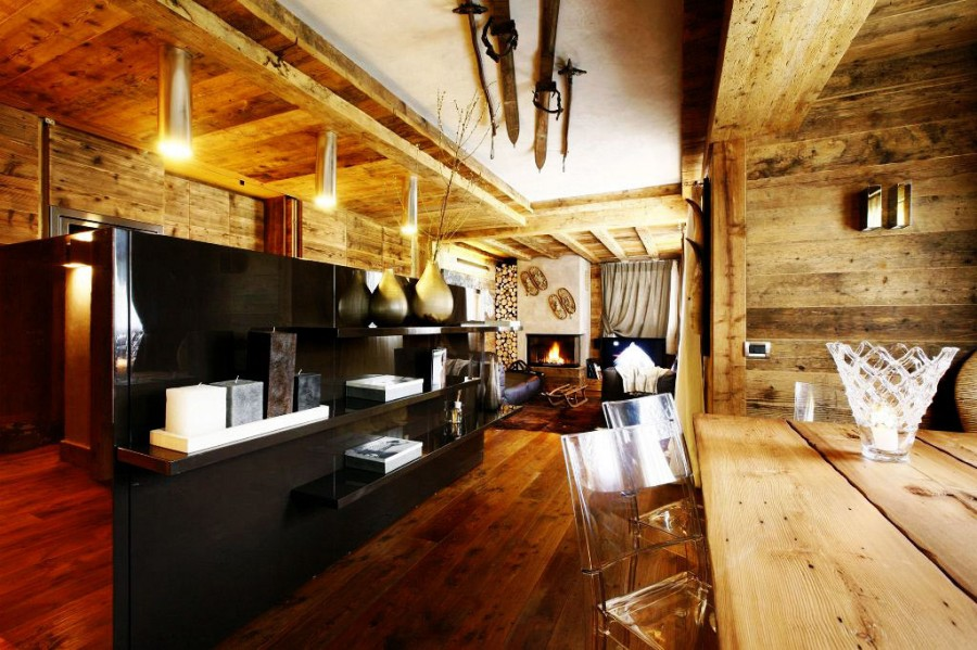 Rustic-Home-Cortina-dAmpezzo-Italy-Sideboards-Open-Plan