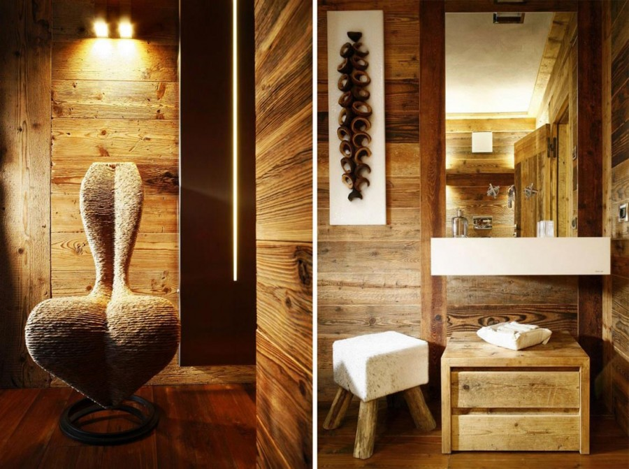 Rustic-Home-Cortina-dAmpezzo-Italy-Bathroom
