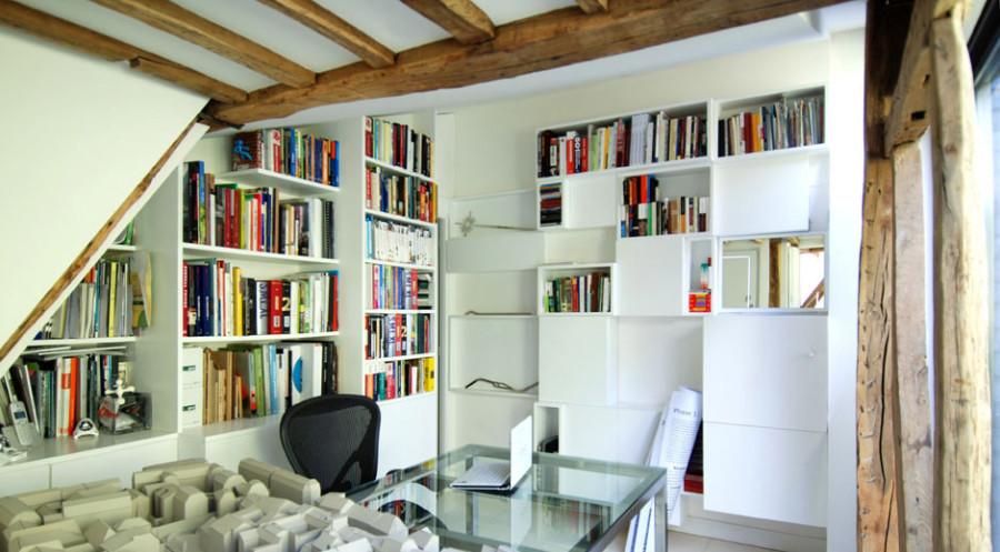 Apartment-Paris-France-Home-Office