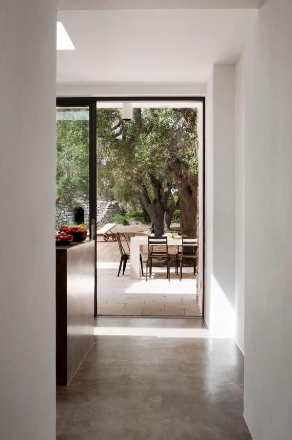 Italian-House-Olive-Trees-Kitchen-Patio-Door