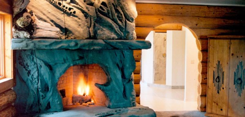 petrified-wood-fireplace