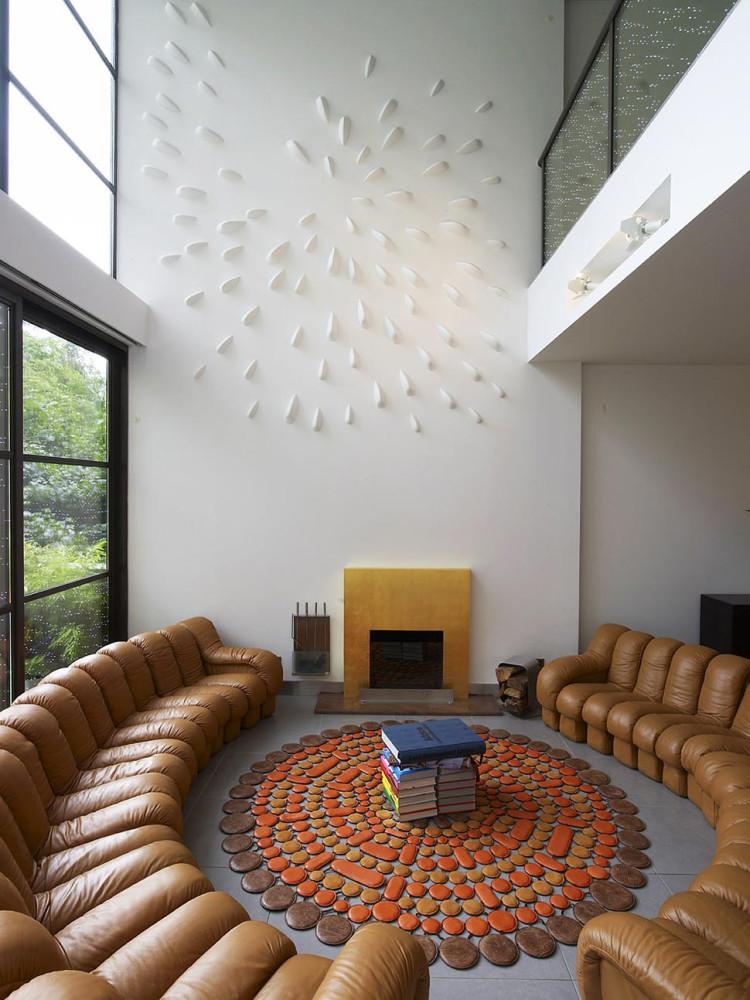 Townhouse-Renovation-Gramercy-Park-New-York-Fireplace-Living-Space