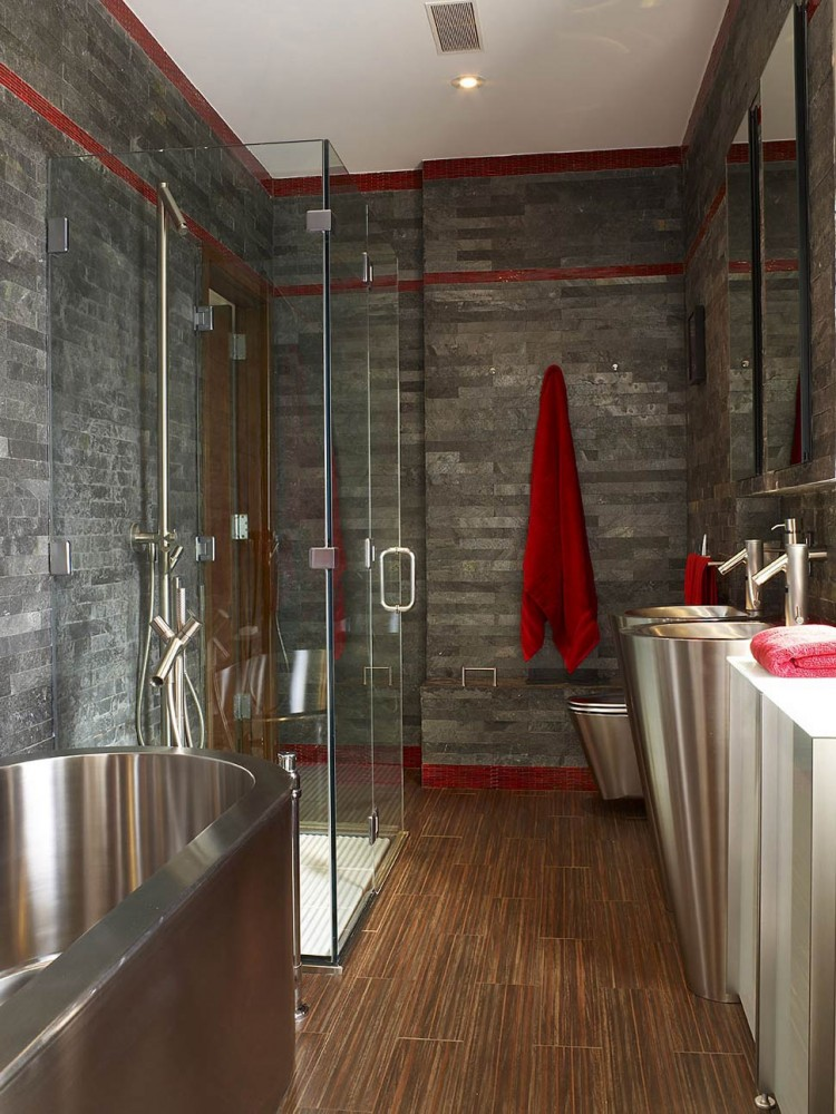Townhouse-Renovation-Gramercy-Park-New-York-Slate-Bathroom-Glass-Shower