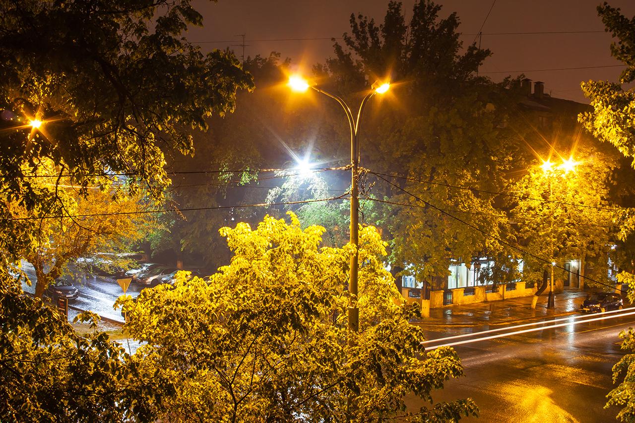 Дождь в Алма-Ате