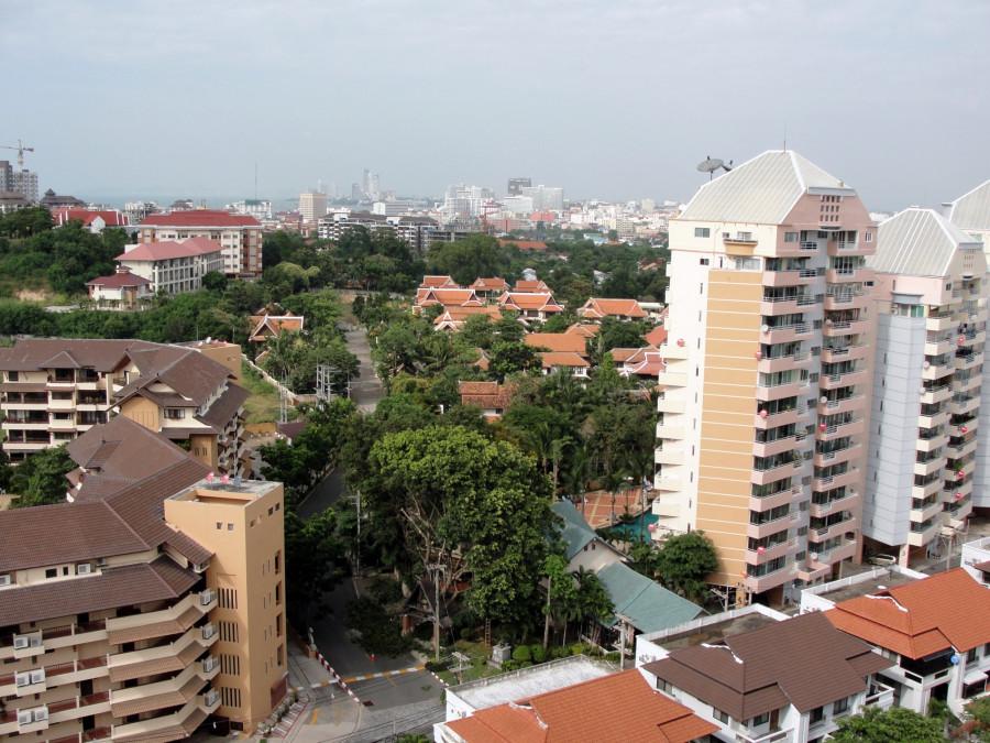 Pattaya from balcony