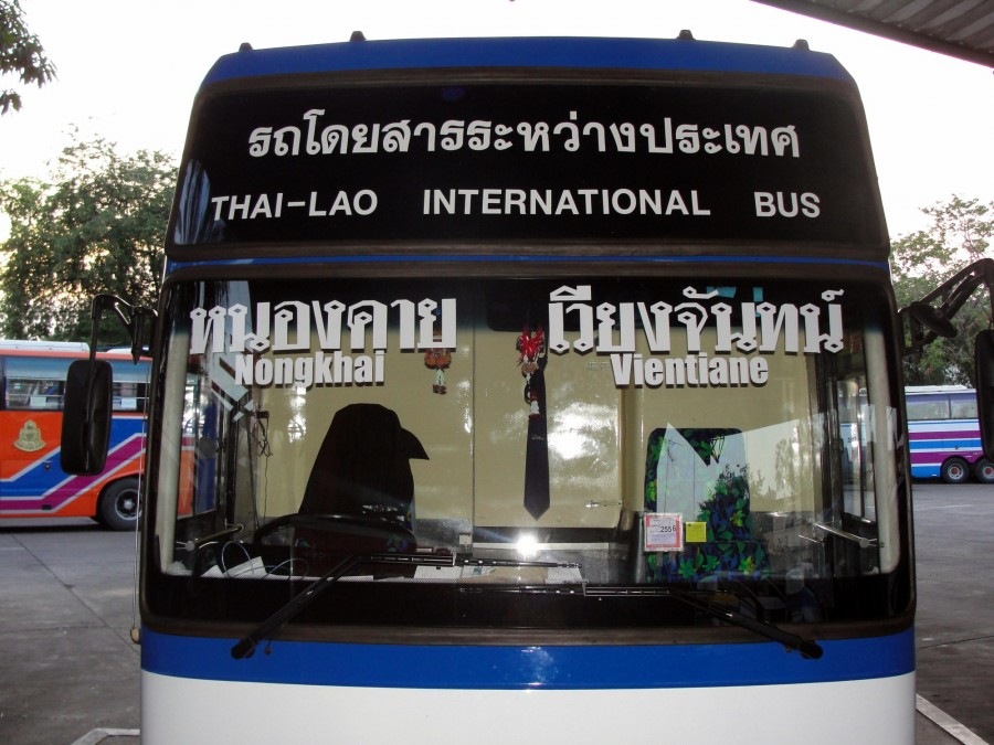 International Bus Nongkhai - Vientiane