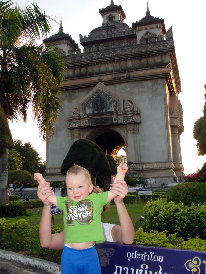 Триумфальная арка и триумфальный Данька