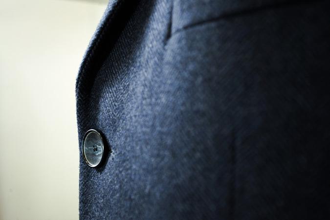Пальто из ткани Vitale Barberis Canonico