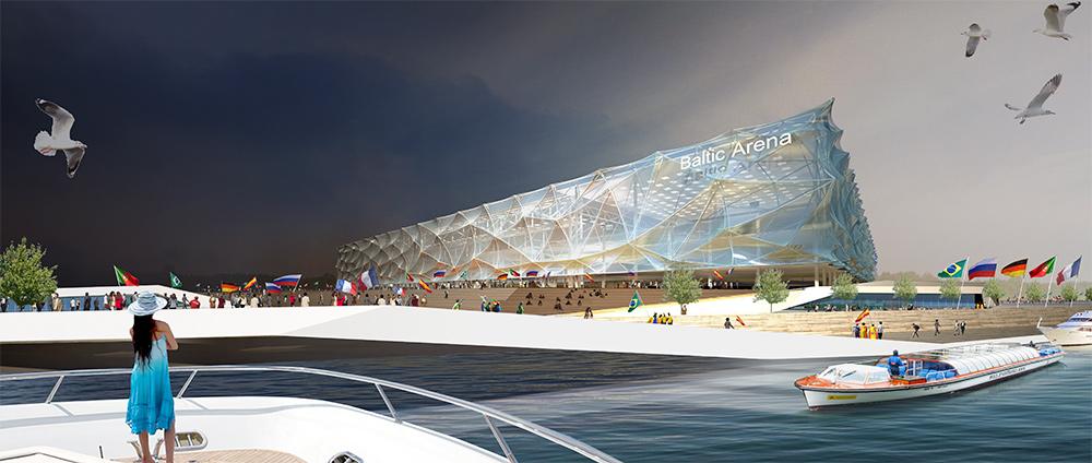 Калининград строительство к чемпионату мира по футболу 2018