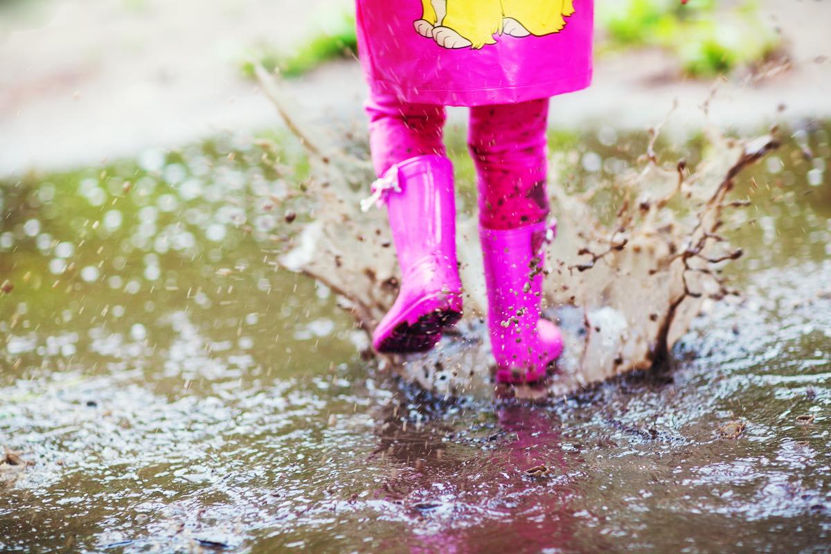 гулять после дождя