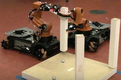 Американские роботы собирают шведский стиль.