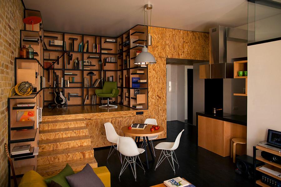 Дизайн своими руками в квартире студии