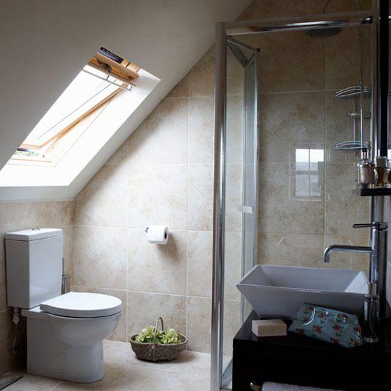 Ванная комната на мансарде своими руками