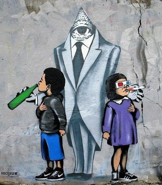 граффити уличные рисунки