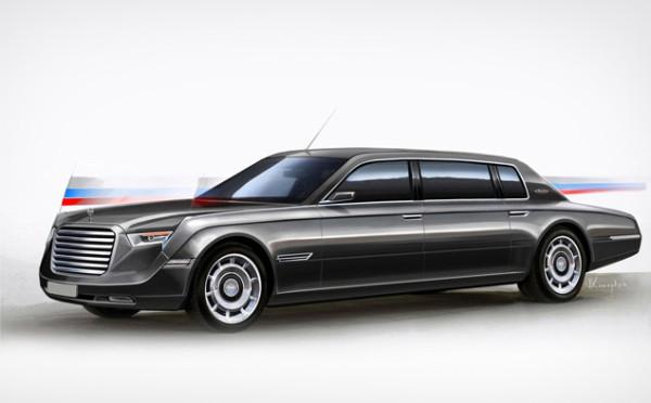 Десять дизайн-проектов автомобиля   для президента России