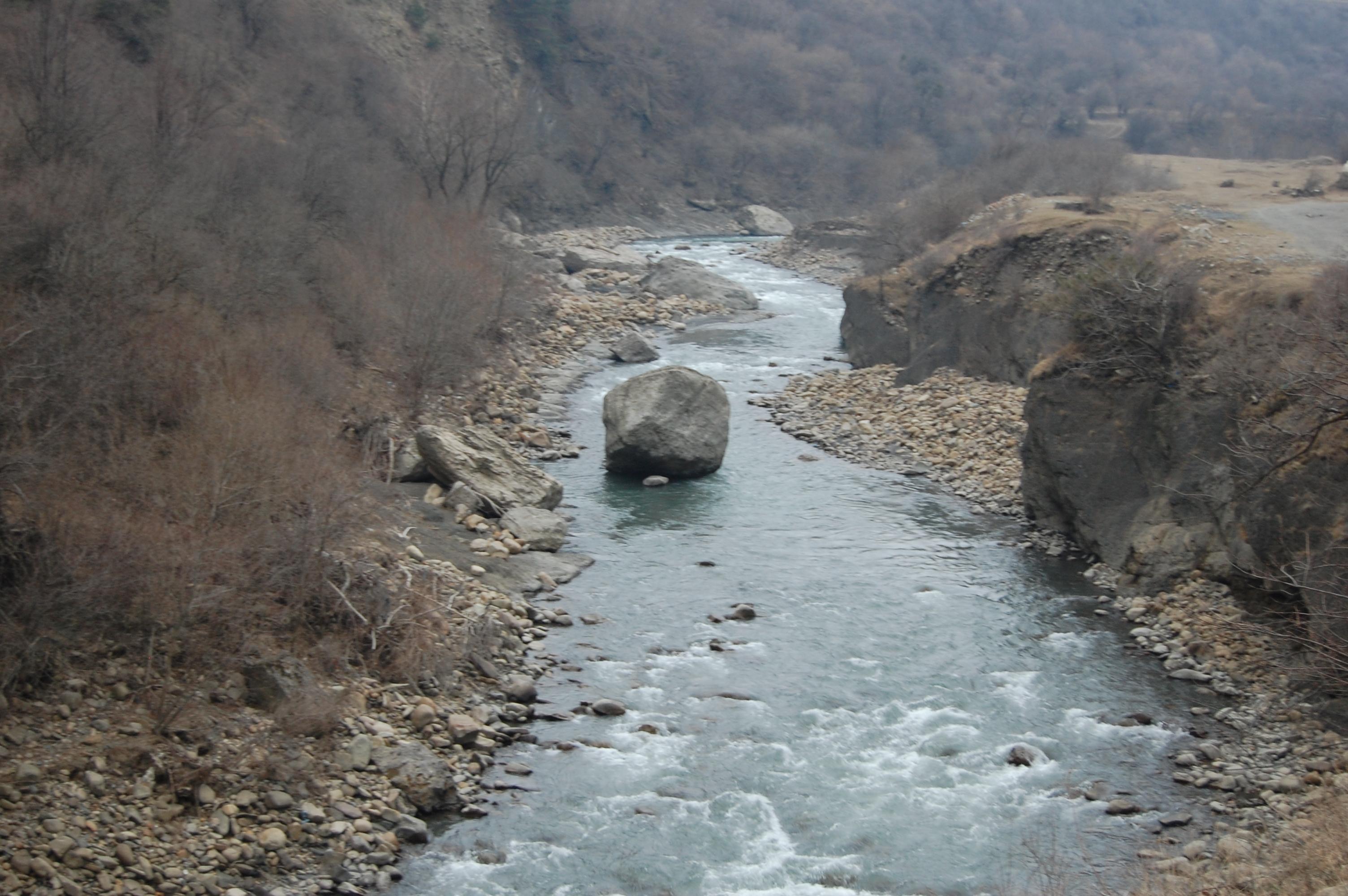 река чечня горная