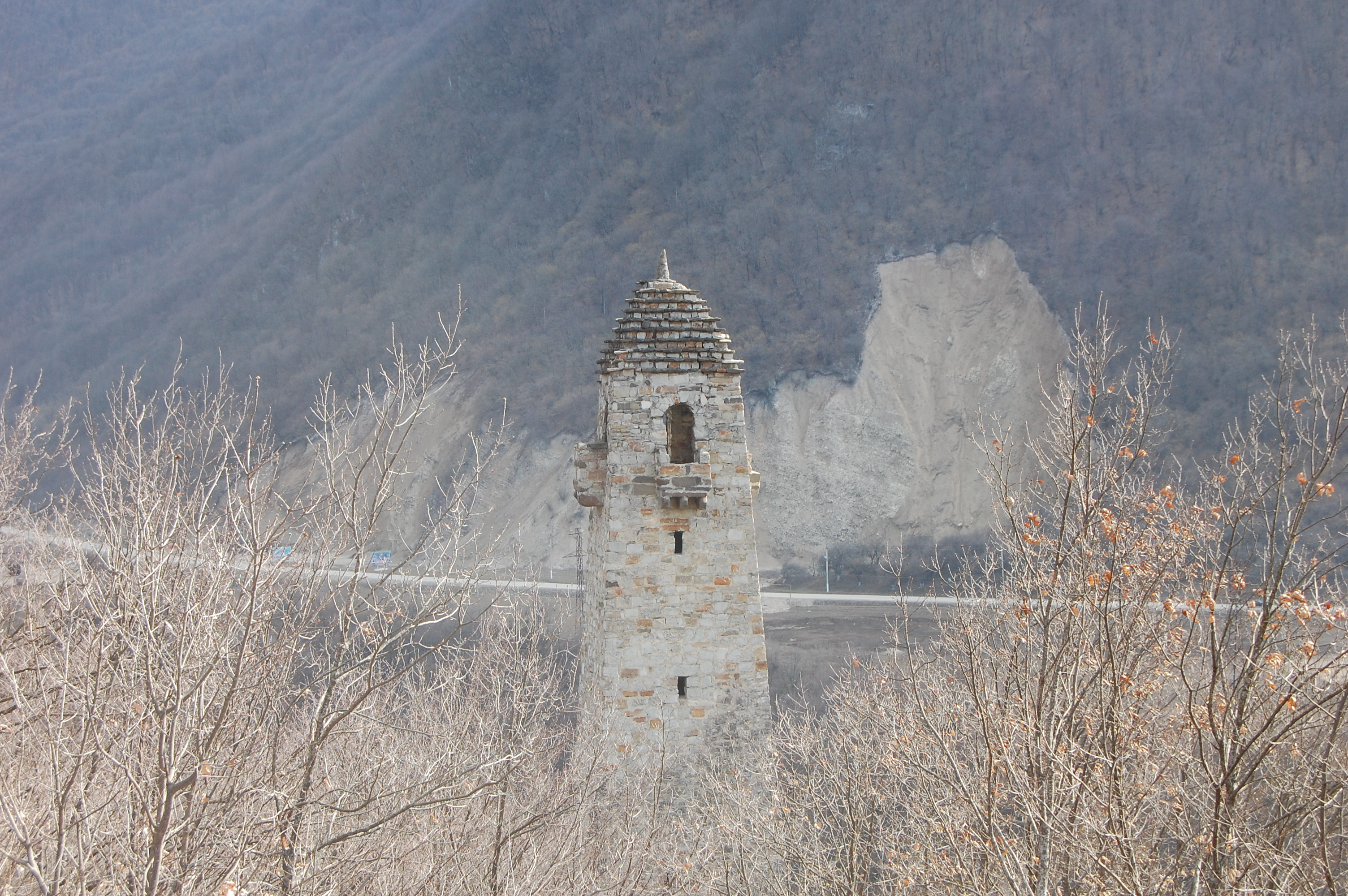 сторожевая башня чечня шатой