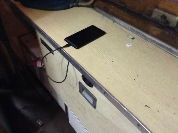 зарядка телефонов в поезде