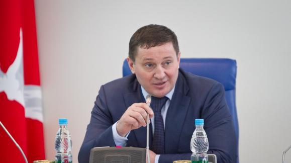 Губернатор Андрей Бочаров