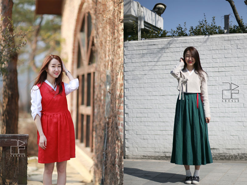 Traditional Meets Contemporary In Modernized Hanbok Trend Omona They Didn 39 T Endless Charms