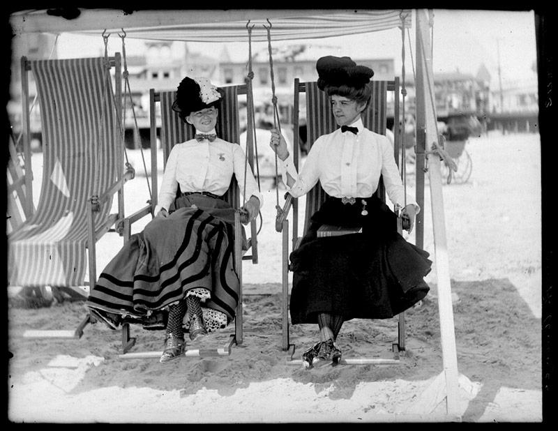 """Начало 1900-х годов """"платье для прогулок у моря"""""""