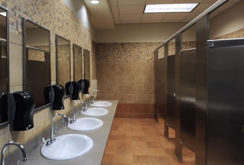 Воруют даже в женском туалете