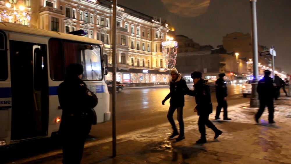 Задержания и провокаторы на Конституционных чтениях против выборов Путина