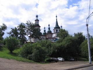 церковь иркутска