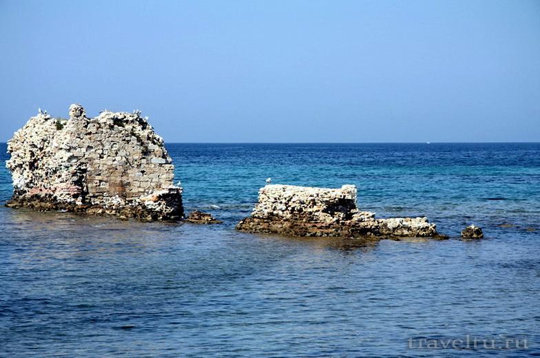 Халкидики. Кассандра. Нео Потидеа - город на море.Море