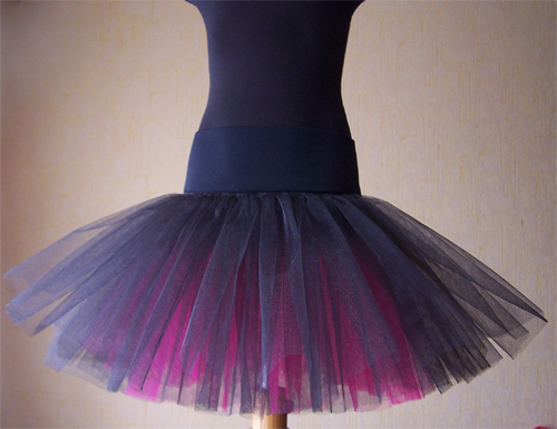 Выкройка юбки из фатина для девочки 4 лет