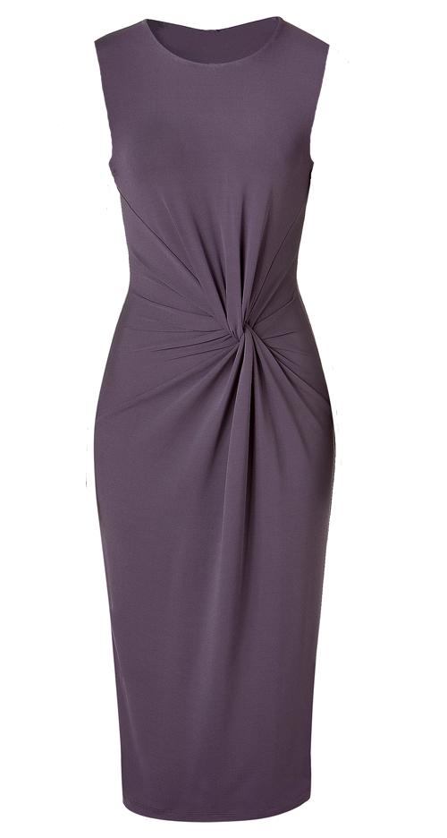 МК платья с Х-драпировкой по мотивам платья от Michael Kors. 48923