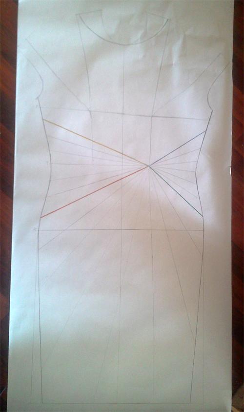 МК платья с Х-драпировкой по мотивам платья от Michael Kors. 49102