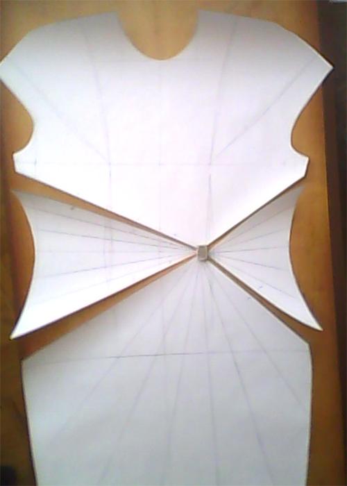 МК платья с Х-драпировкой по мотивам платья от Michael Kors. 72483