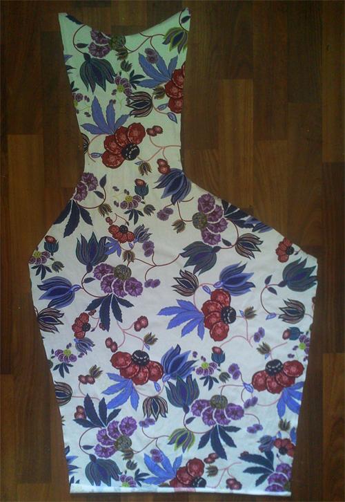 МК платья с Х-драпировкой по мотивам платья от Michael Kors. 56025