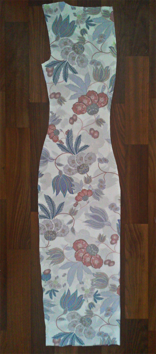 МК платья с Х-драпировкой по мотивам платья от Michael Kors. 66637