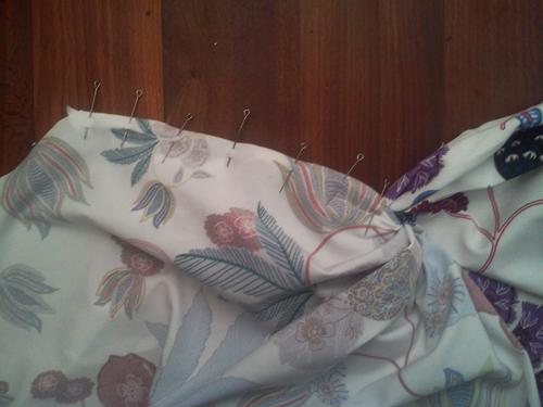 МК платья с Х-драпировкой по мотивам платья от Michael Kors. 10140