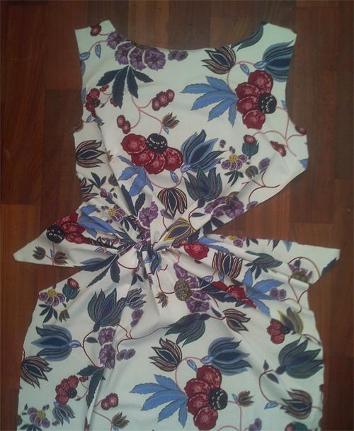 МК платья с Х-драпировкой по мотивам платья от Michael Kors. 45357
