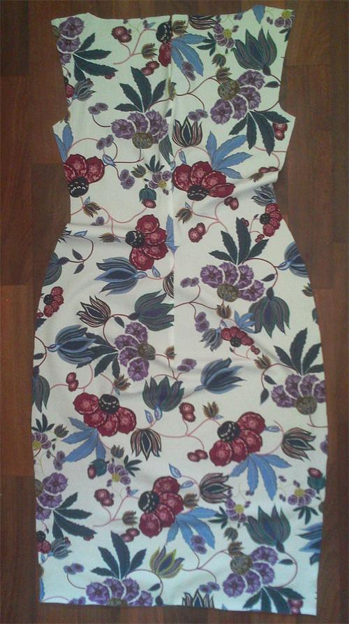 МК платья с Х-драпировкой по мотивам платья от Michael Kors. 42910