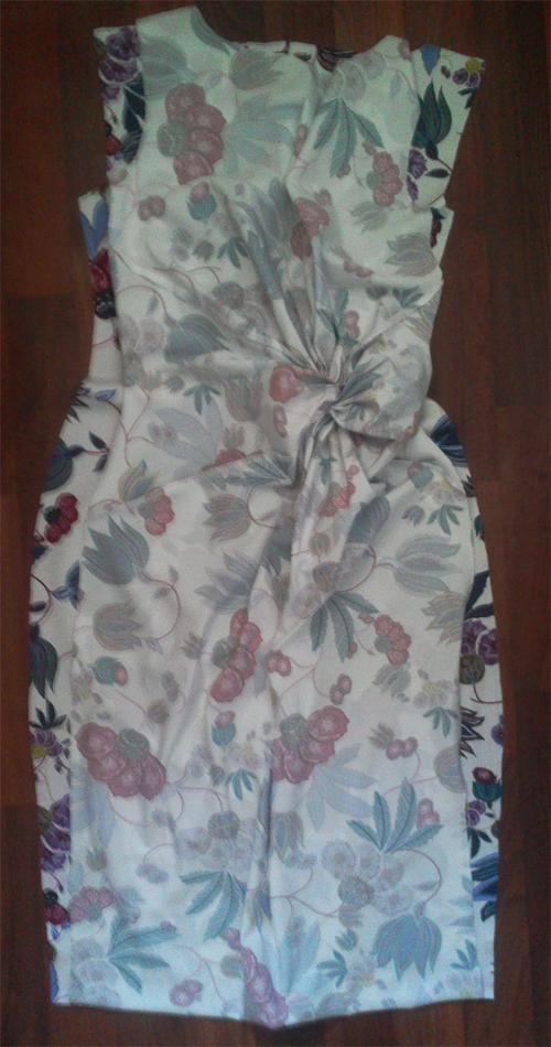 МК платья с Х-драпировкой по мотивам платья от Michael Kors. 78113