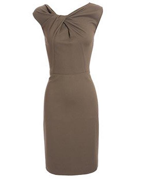 Выкройка платья с сексопильной драпировкой