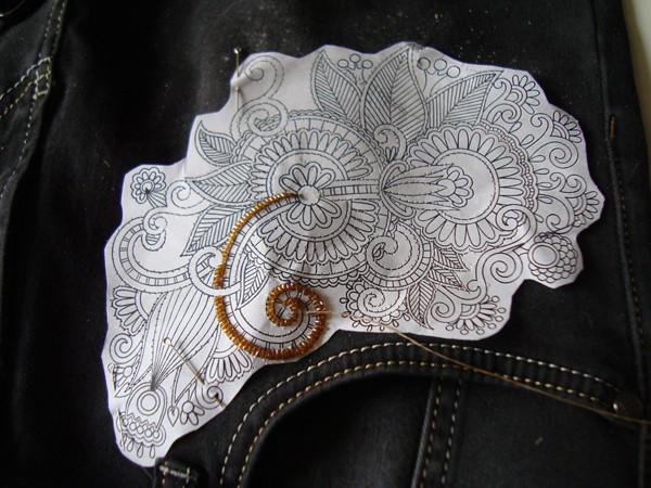 Вышивка ришелье руками схемы шаблоны 11