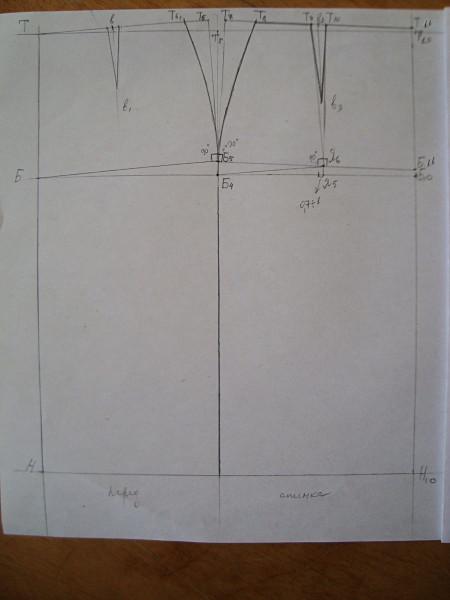 конструирование юбки карандаш: