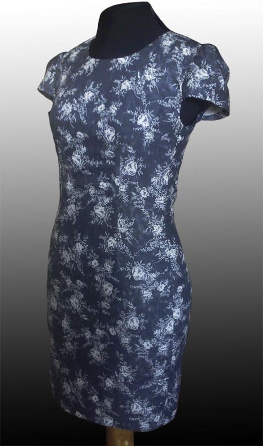 ba358db62c4cdef Джинсовое платье-футляр.: sudarikova_nika ?