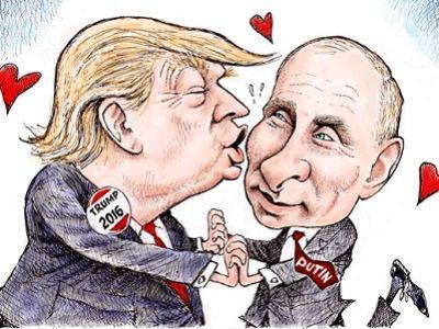 """Трамп назвал сообщения о компромате российских спецслужб на него """"тотальной политической охотой на ведьм"""" - Цензор.НЕТ 8714"""