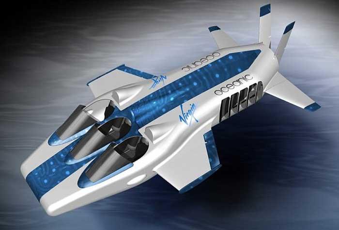 Частная субмарина - подводный самолёт Necker Nymph