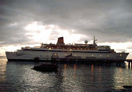 Корабль Фривиндс у причала