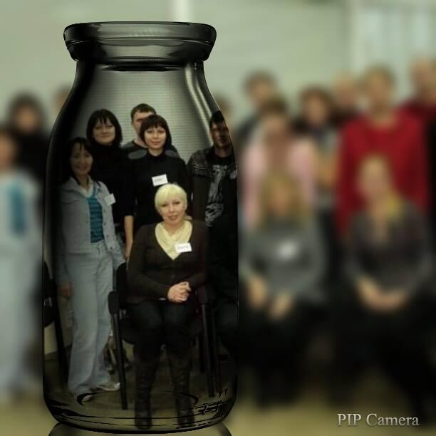 Людмила Суфэль на занятиях по гипнозу
