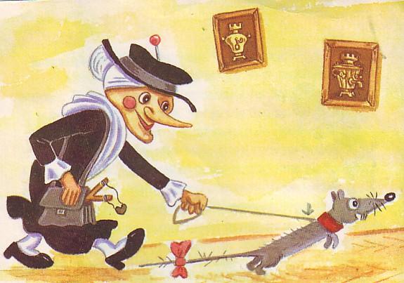 """Старуха Шапокляк мультфильм """"Чебурашка и крокодил Гена"""""""