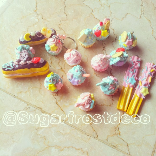 Dessert decocharms for accessories