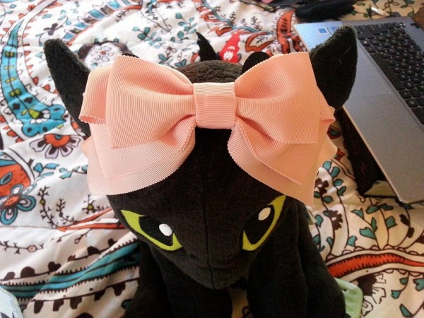 IW Pink Bow